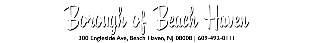 Borough of Beach Haven Logo